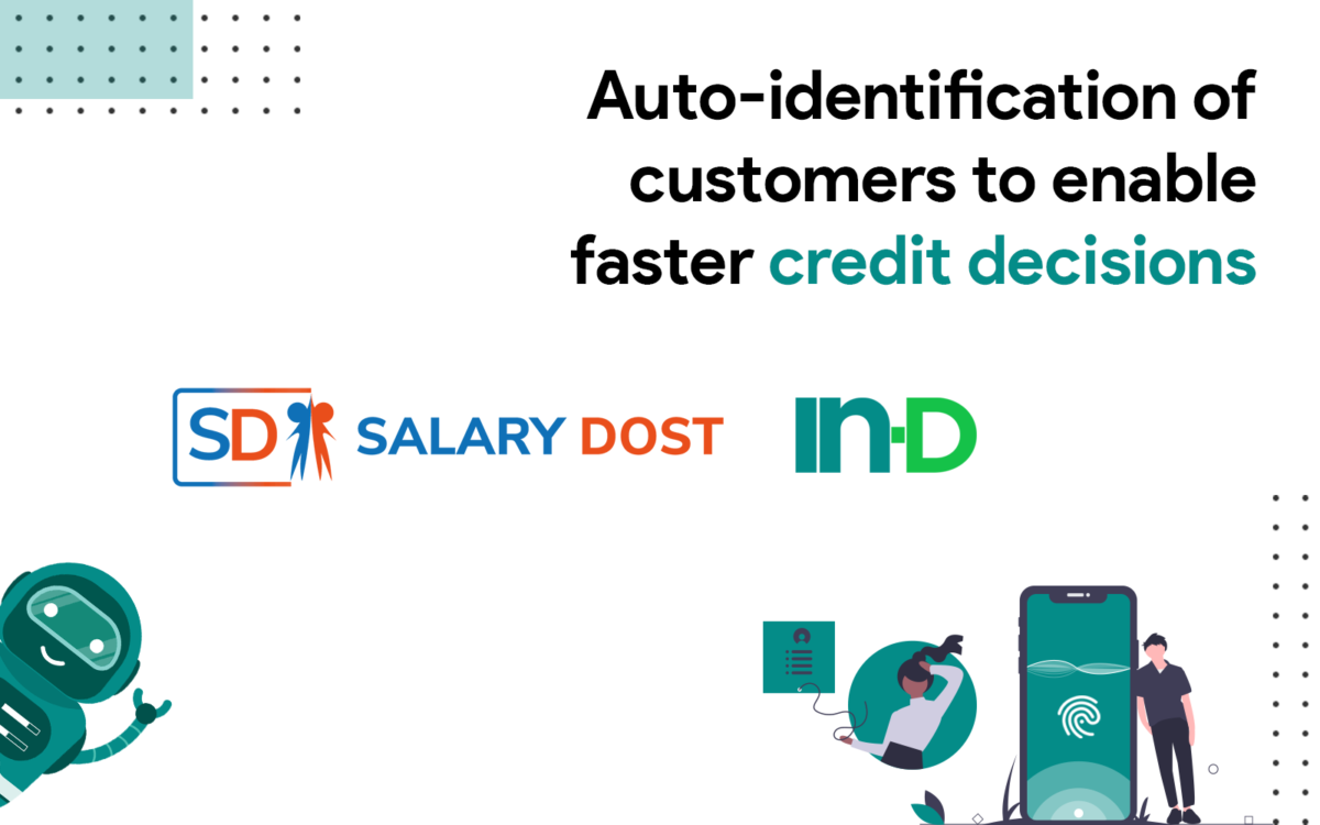 Auto-identification of customers to enable faster credit decisions