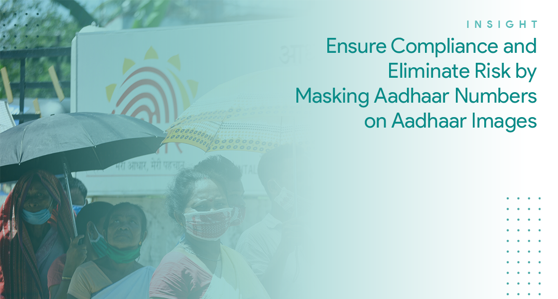 Most Secure and Cost-Efficient Way to Mask Aadhaar Data